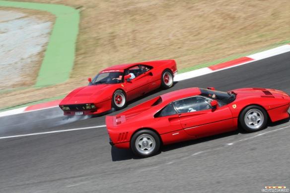 Ferrari 288 GTO Accident 2
