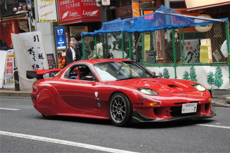 Mazda RX-7 tuning 1