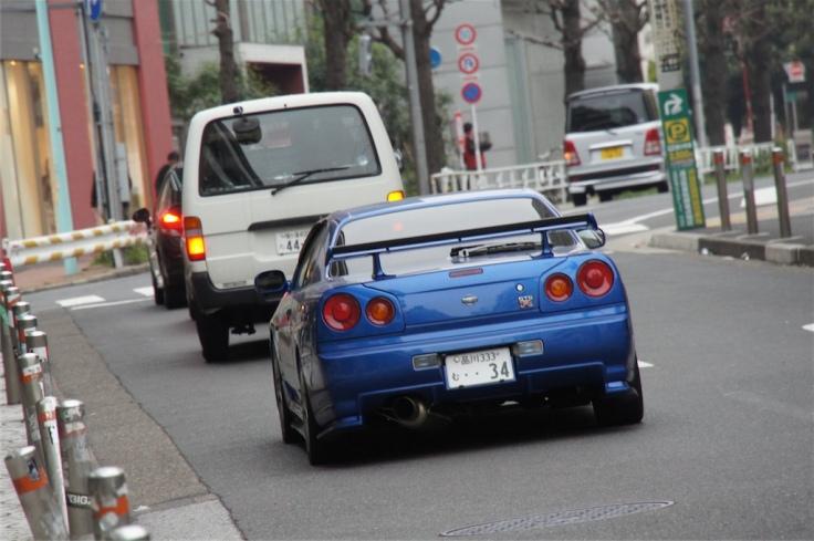 Nissan R34 Skyline GT-R 1