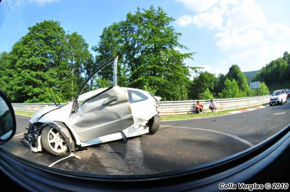 Accident Honda Civic a Adenauer Forst