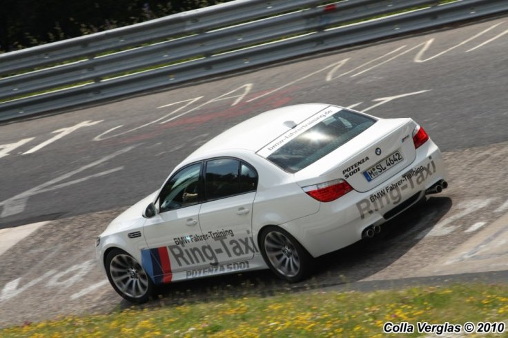 BMW E60 M5 Ring-Taxi 4