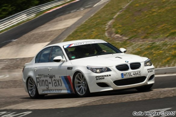 BMW E60 M5 Ring-Taxi 6