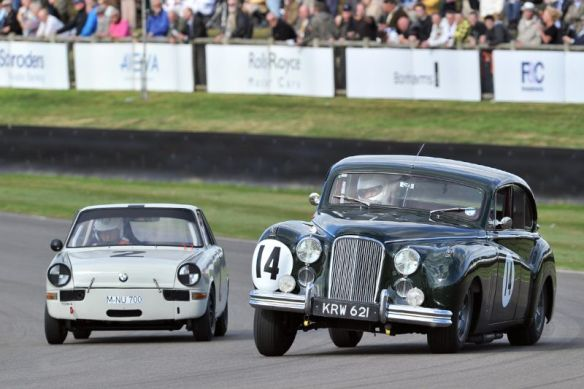 BMW 700 and Jaguar MkVII