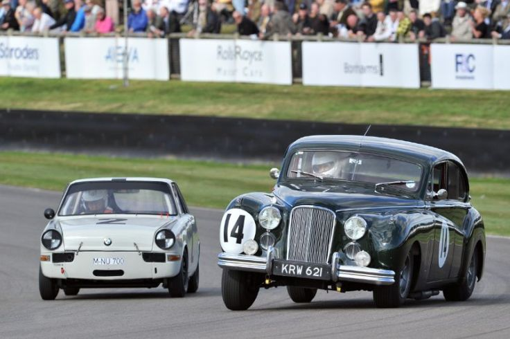 BMW 700 and Jaguar MkVII