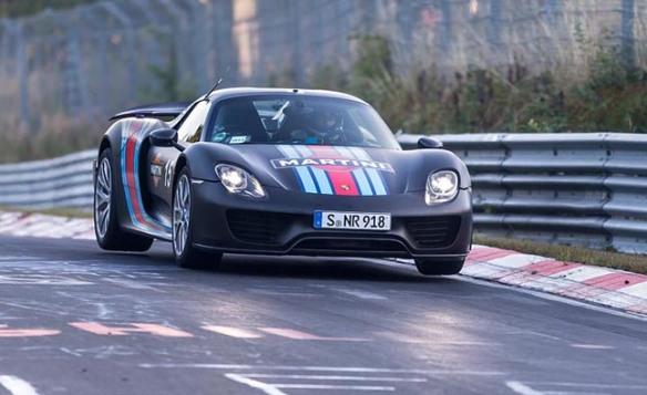 Porsche-918-Spyder-nurburgring-record
