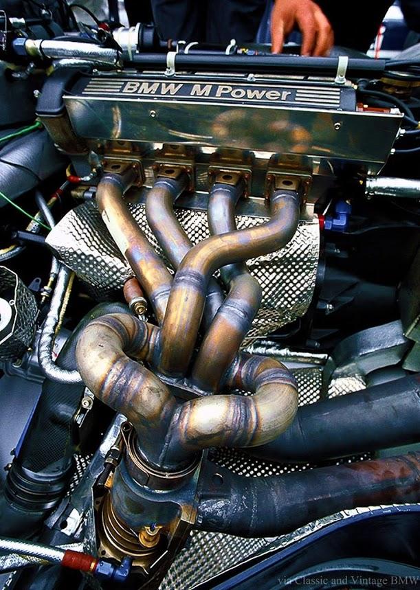 1400 hp BMW M10 F1 Turbo engine