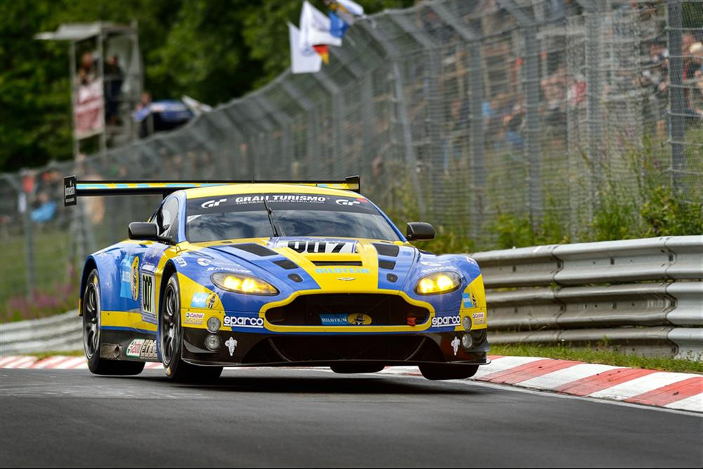V12 Vantage GT3 in top 30 shoot-out