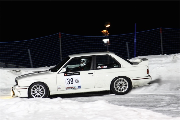 Winter Rally Andorra 2014 Colla Verglas BMW E30-20